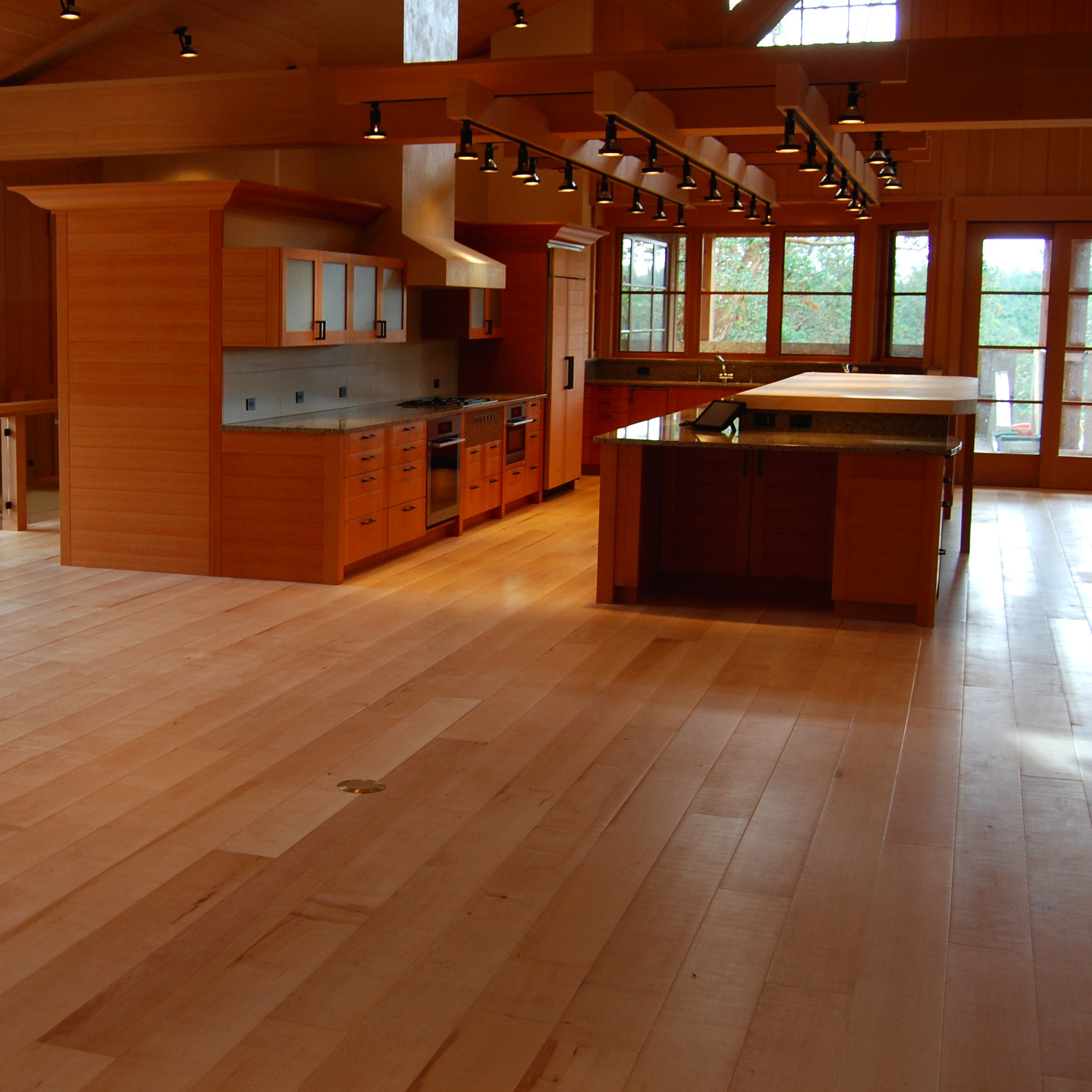 INSTALLATION - Installing hardwood floors in your home is a large investment. We install with an eye for quality and apply finish that will last for years. We have the knowledge and experience to help you choose between the many choices in wood flooring to craft your perfect living space.