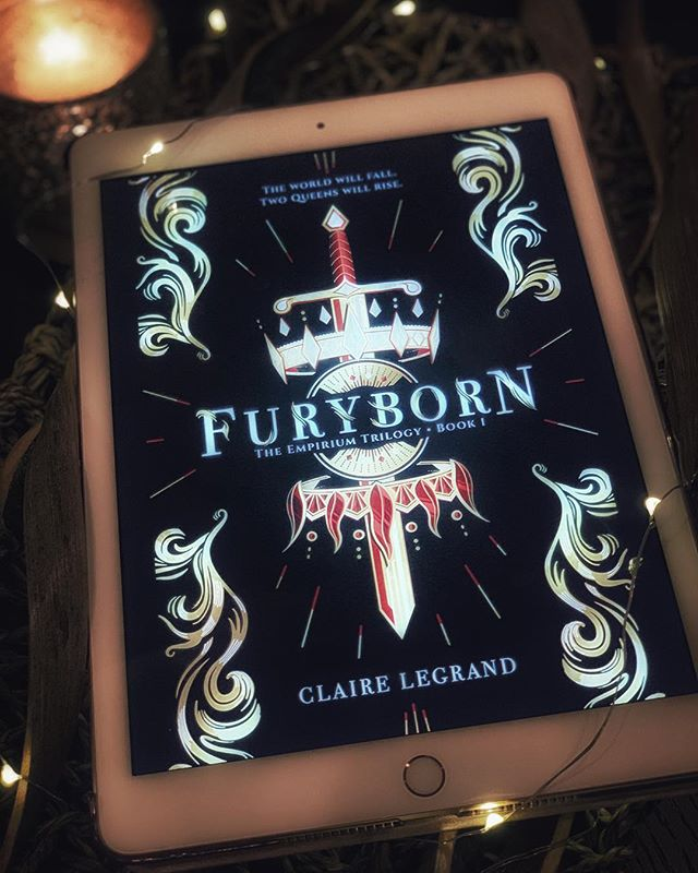 In need of an intense, sexy and badass feminist adventure? #Furyborn by @clairelegrand is the book for you.  Read my review at #TheReadingConspiracy by clicking the link in bio. 📚