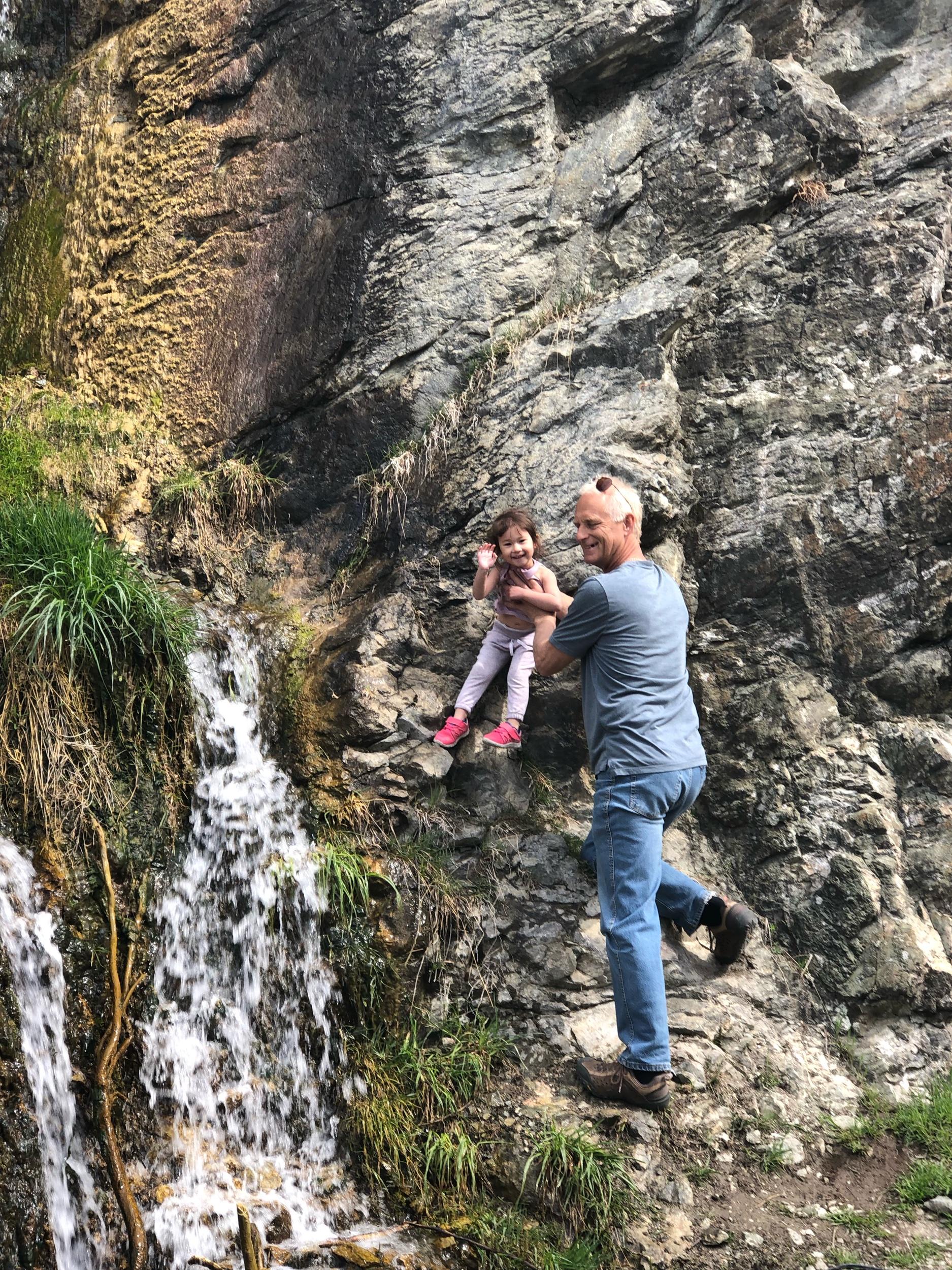 Wood Lake Waterfalls
