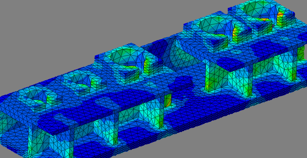 Finite Element Analysis - We have the expertise to provide finite element analysis for a variety of cases.