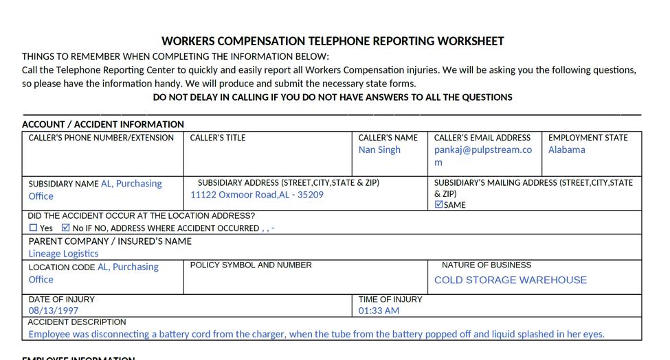 WCClaimTelephoneReport.png
