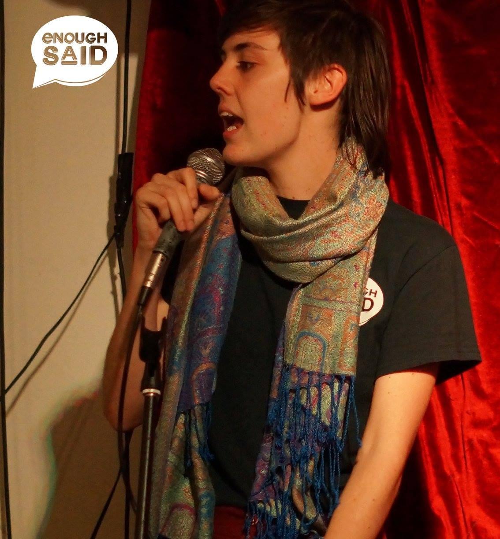 Enough Said Poetry Slam , October 2017, Jane's Cafe and Bar, Wollongong. Image: Bella Luna