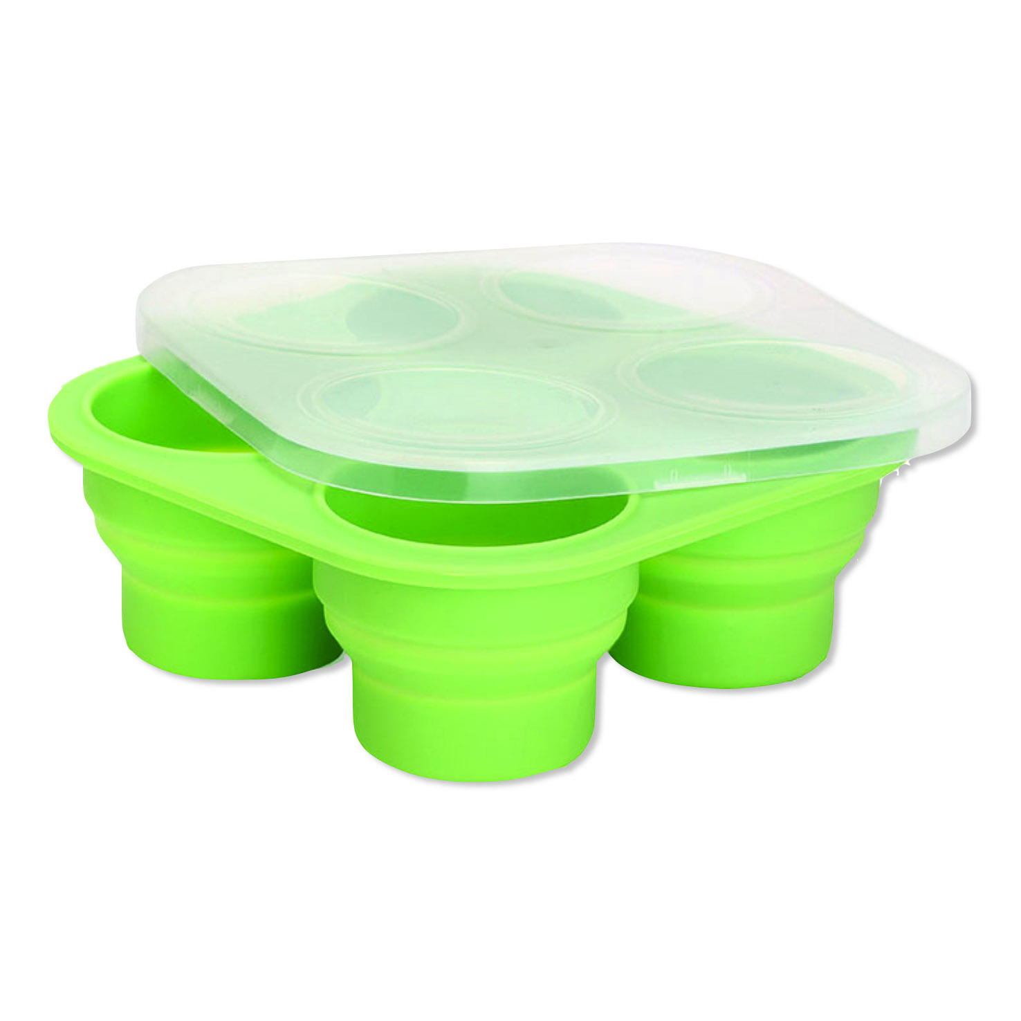 Platinum Silicone Collapsible Freezer Mould Green.jpg