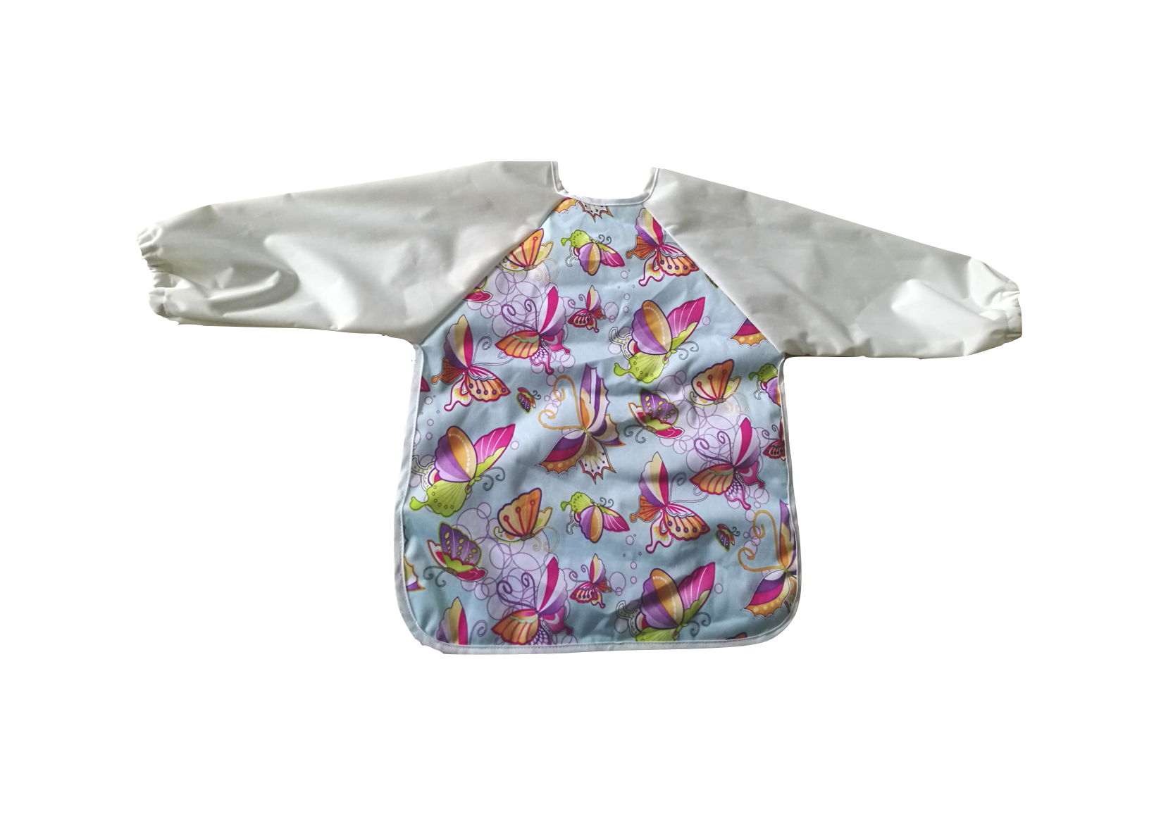 Copy of Butterflies Coverall Bib with Sleeves