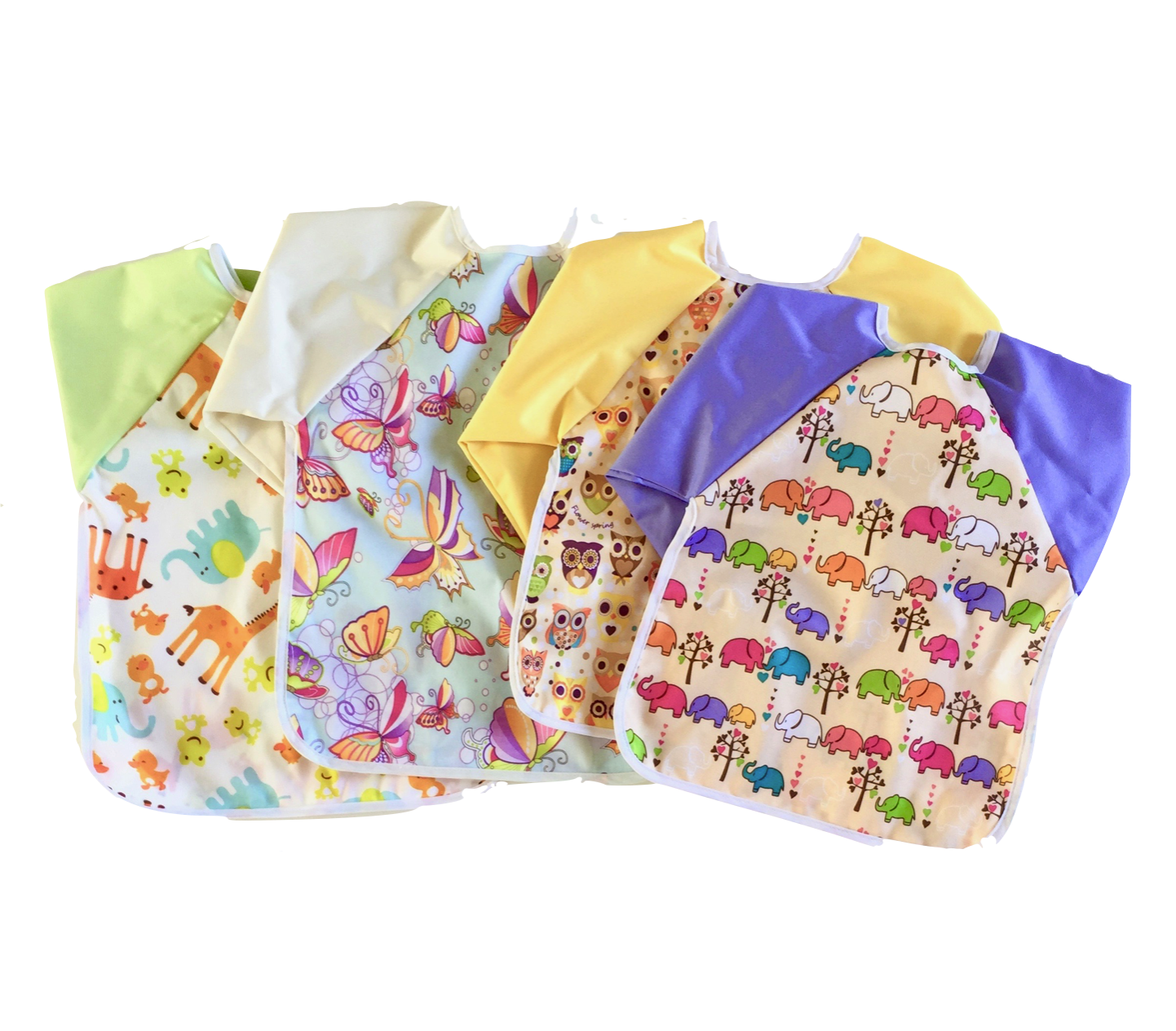 Copy of Li'l Creatures Coverall Bib with Sleeves