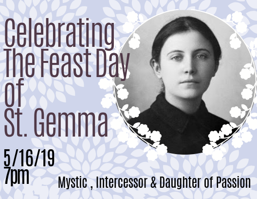 Celebrate St. Gemma's Feast Day
