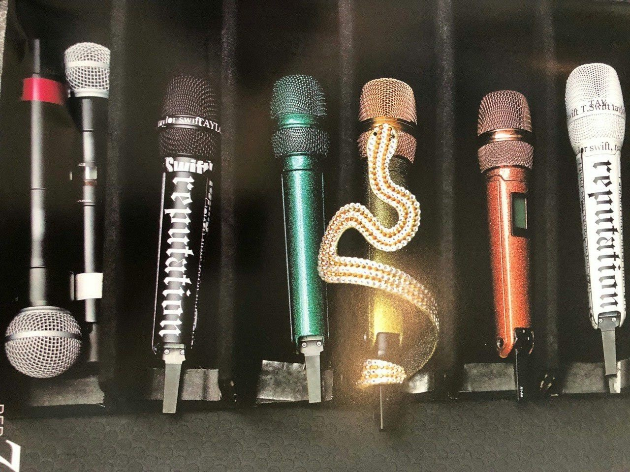 taylor swift microphones
