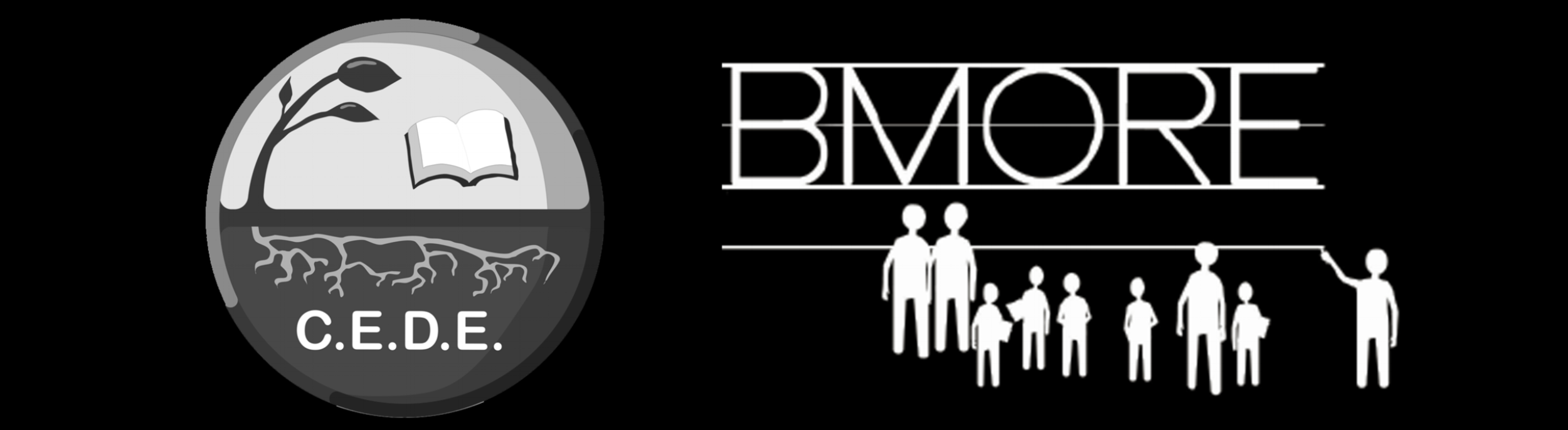 bmorecede.combined logo inverted.b&w.png