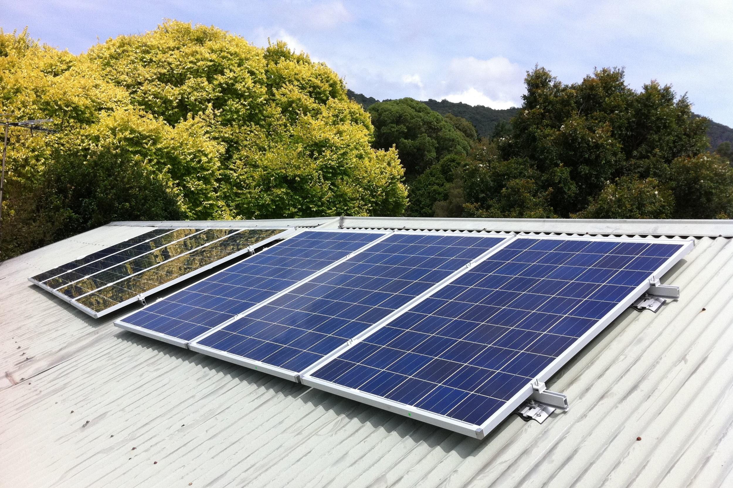 2011: 1.61kWp SolarWorld AG system