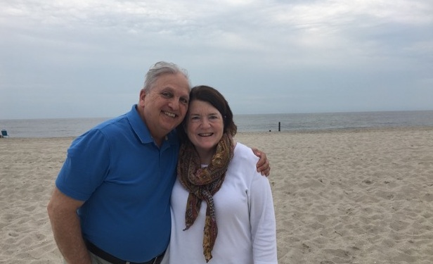 Margie and Rick at the beach.jpg