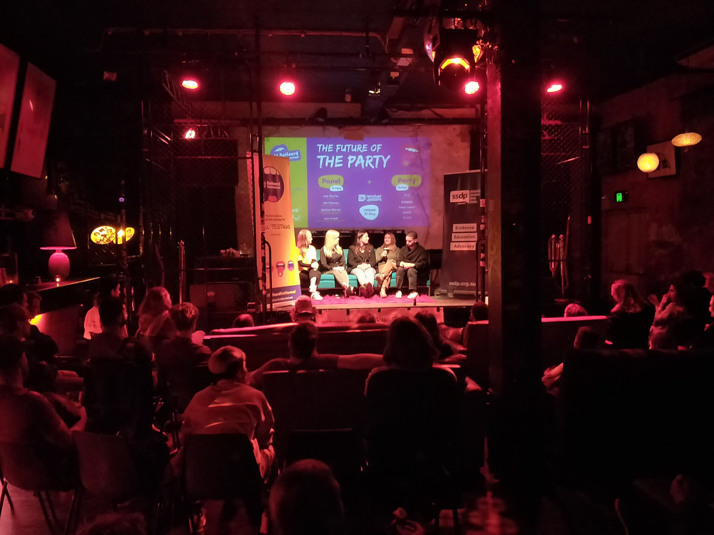 The Future of the Party - Panel Discussion and audience at Revolver Nightclub.jpg