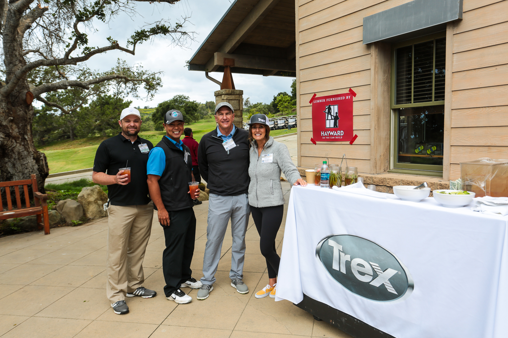 Thanks to TREX for sponsoring this delicious bloody mary bar.