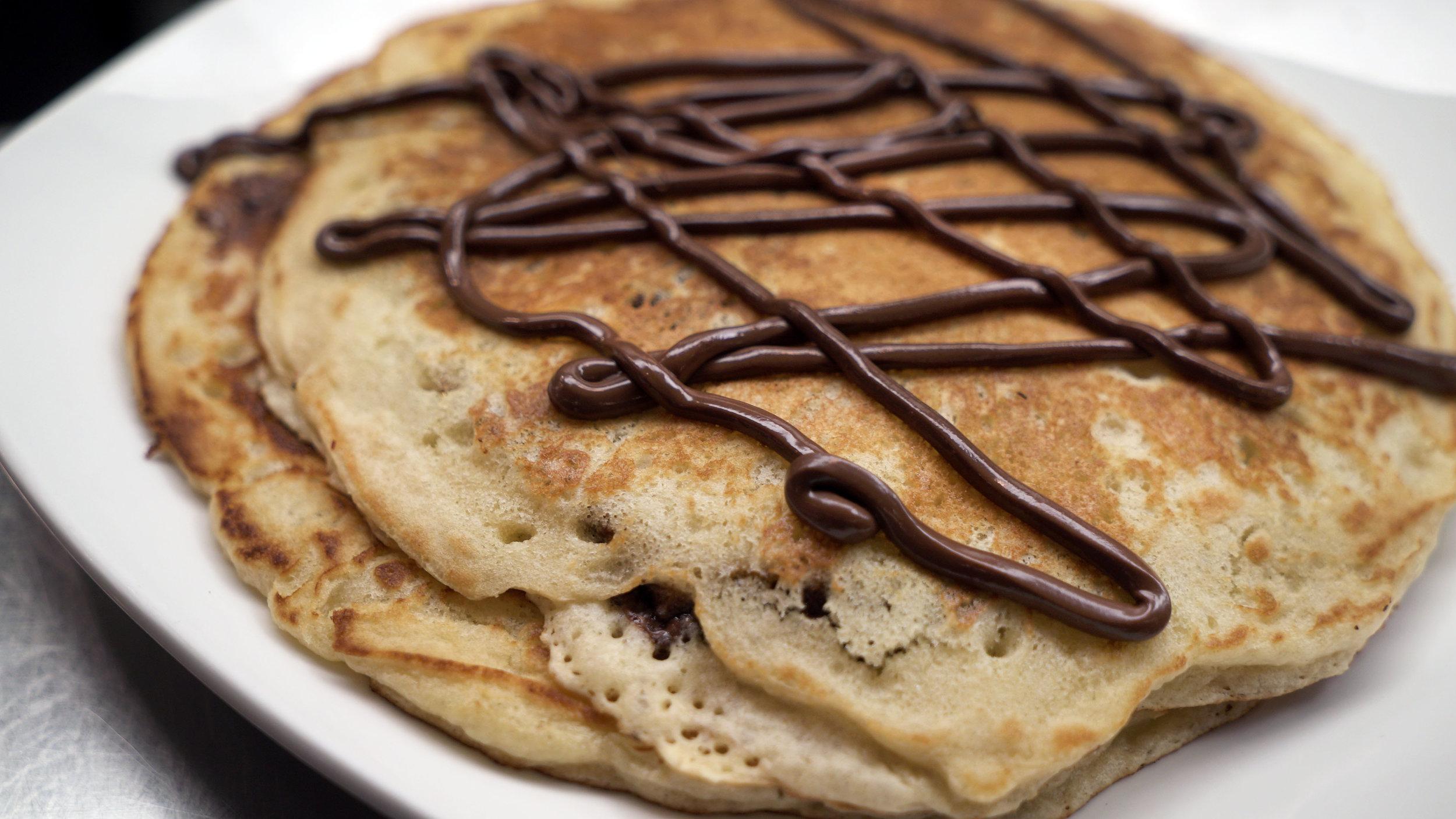 Nutella Topped Pancakes.JPG