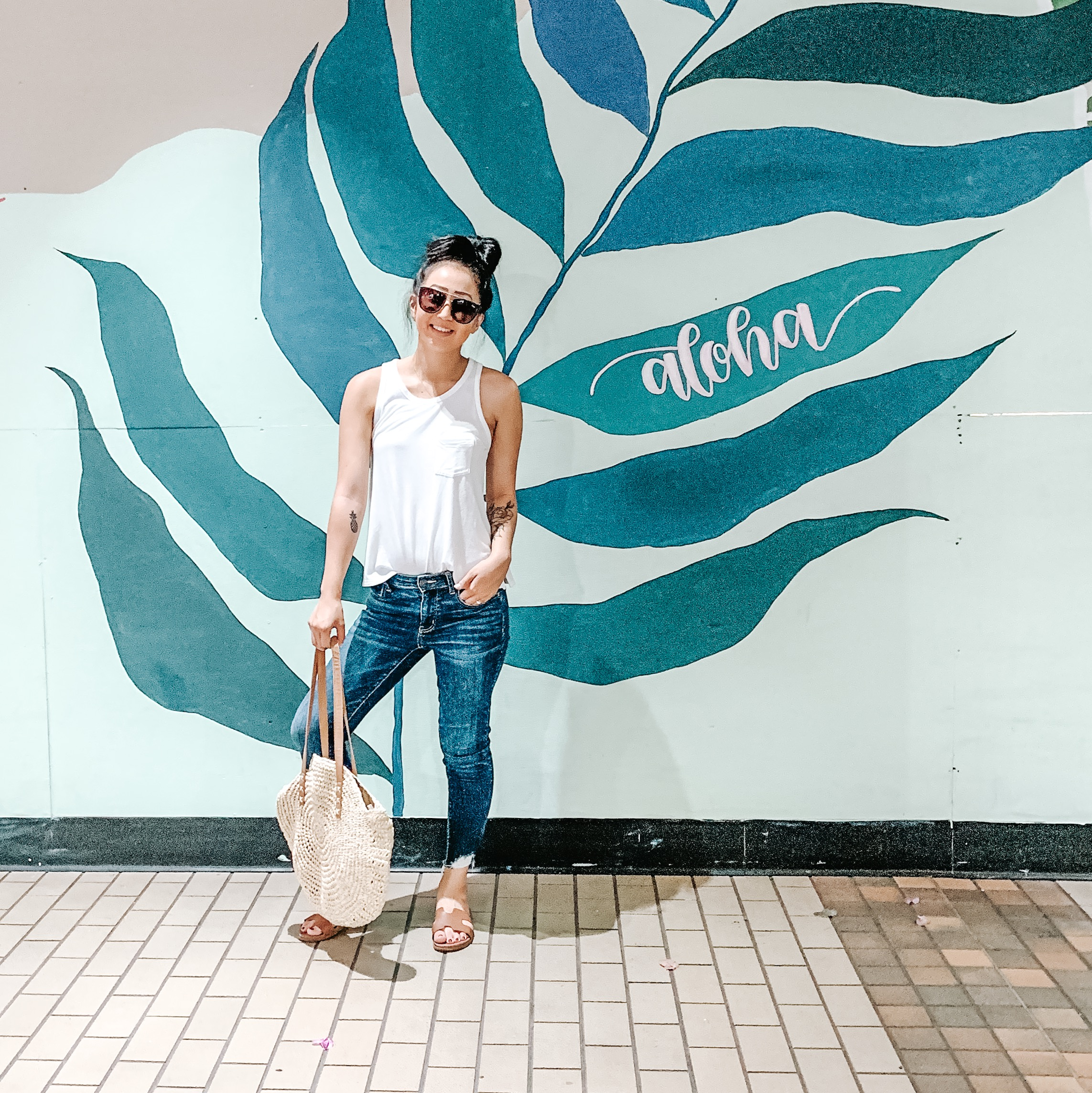 Ala Moana Center - Okay, yes it's a mall but hear me out. These cute murals are in the parking garage and a lot of the big name stores have super 'gram worthy accents. Keep your eyes peeled, there are Insta-worthy opportunities everywhere!