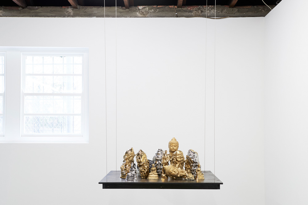 Nathan Beard, Zen Objects (i-xxii),  'Transcendence' Curated by Nanette Orly,Photo Zan Wimberley.jpg