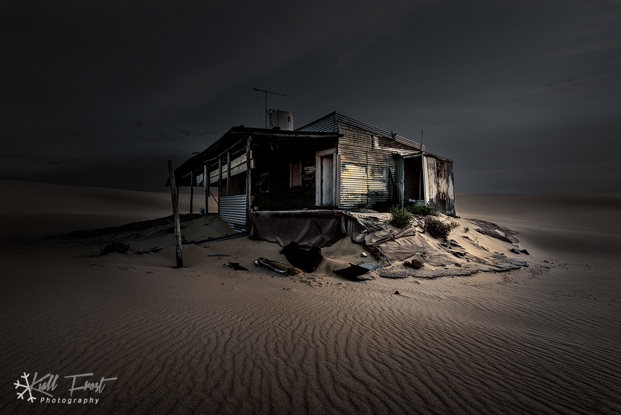 Tin City Stockton Sand Dunes