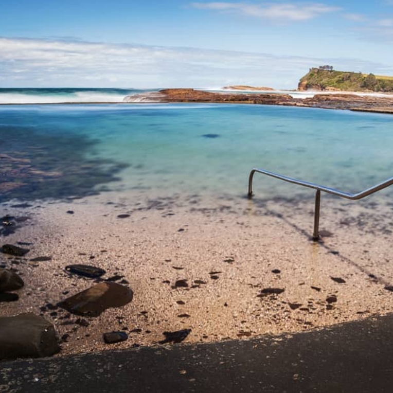 BOAT HARBOUR   Ocean rock pool, boat ramp and if you're down in January you can participate in the Captain Christie swim to Werri Beach.