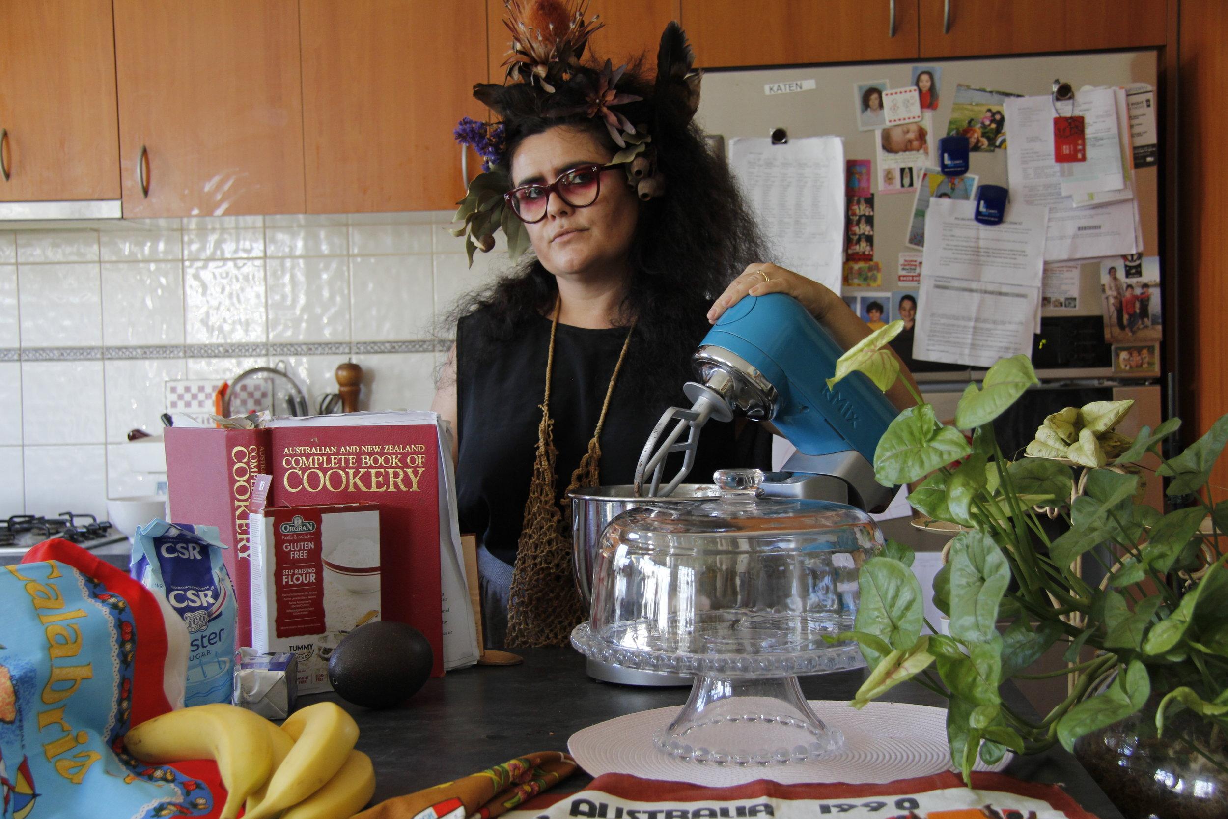 Mok Mok Bakes Emu Egg Chocolate Cakes-gluten free and everything Paola Balla 2016.JPG