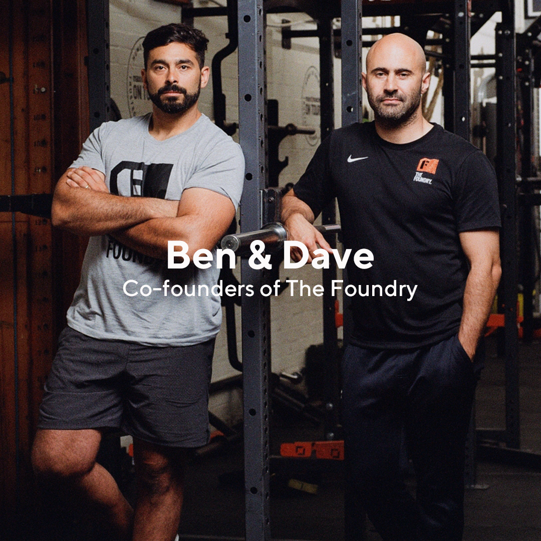 "Voted one of the best gyms in the world, The Foundry the place #WhereTheStrongBelong was created by Ben Gotting and Dave Thomas to offer the opportunity to train like a professional athlete in a team environment.   ""The Foundry's ethos in encapsulated in our call to action ""Where The Strong Belong"". This is an attitude, not a description."" - Ben & Dave"