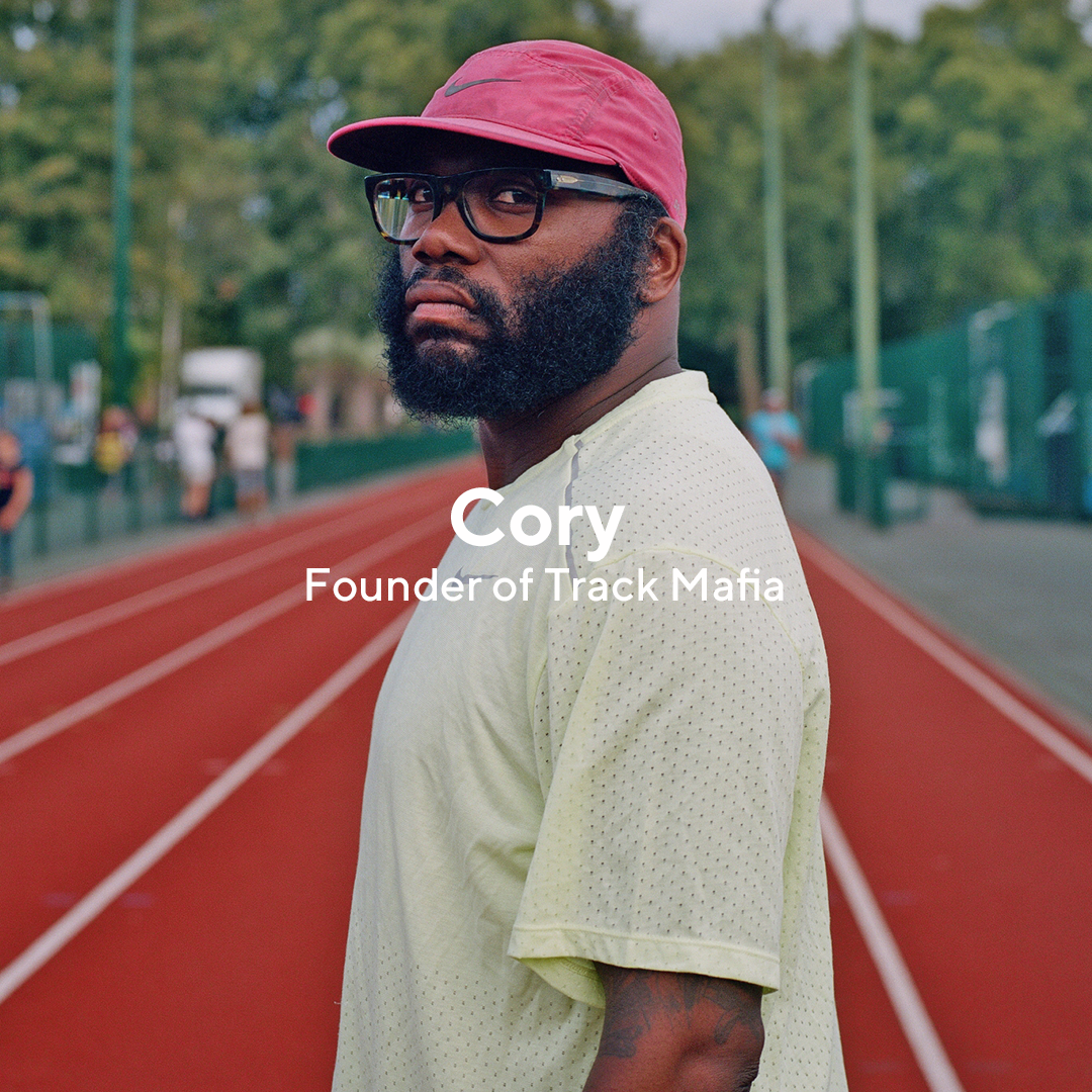 Cory Wharton-Malcolm aka @bitbeefy is a running champion with a few strings to his bow. Founder of TrackMafia, Director of SportingChanges and Nike+ Run Club London Lead Coach.
