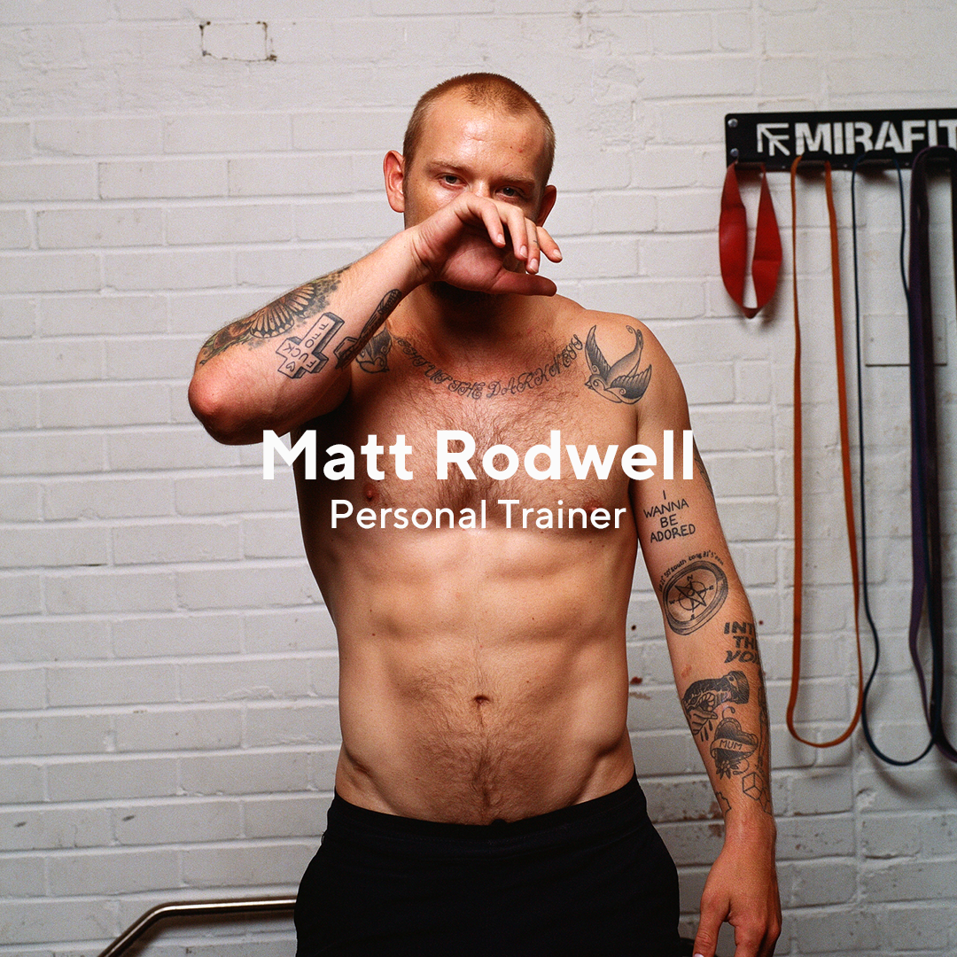 "Model, surfer, Nike Trainer and CrossFit athlete, Matt Rodwell trains six days a week and is all about getting out of your comfort zone to try new experiences.  ""Get out of your comfort zone, that's where the magic happens."" - Matt"