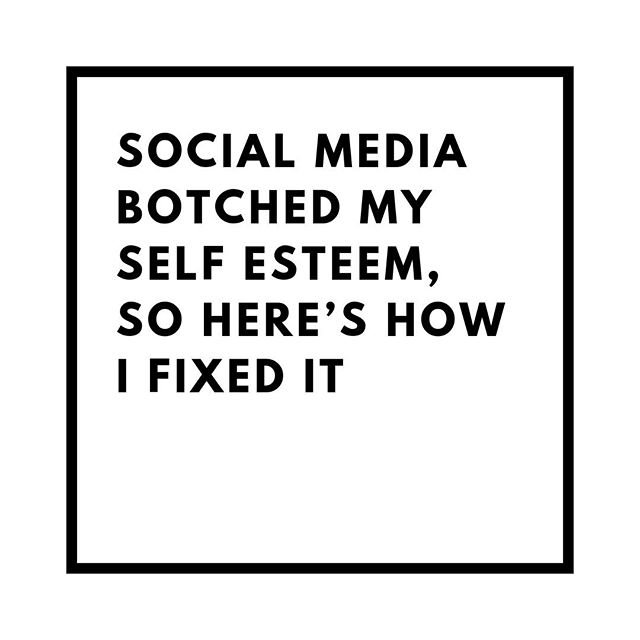 """In our latest blog post, co-founder Amy shares her experience growing up with the rise of social media and its affects on her self esteem 📱👧⠀ ⠀ """"I look back at my experience as a 15 and 16 year old as a lesson to do better. To put more time and energy into looking after my mind and its relationship with my body. Through much trial and error, here are my top three tips to building your self esteem back up from scratch"""".⠀ ⠀ Link in bio..."""