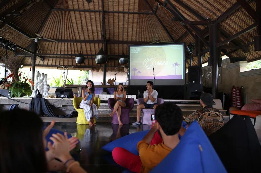 An Environmentalism Talk, held at last year's OC'18.