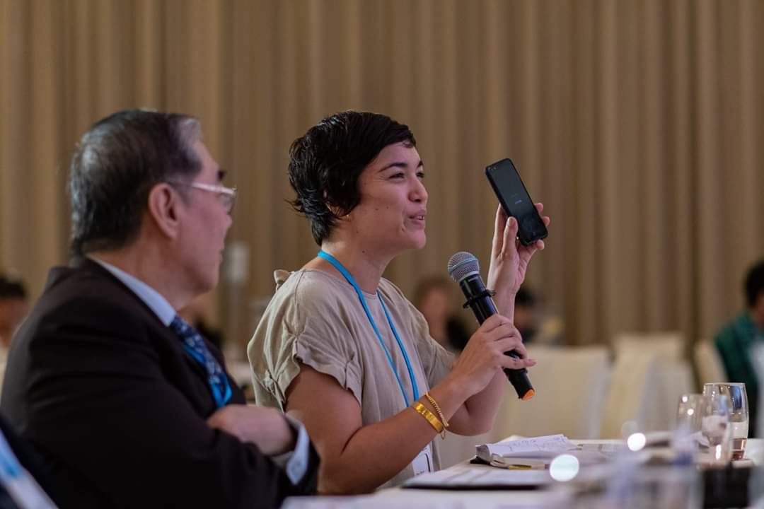 At the Hitachi Young Leaders Initative 2019, MeshMinds' Chief Connecting Officer, Kay Vasey, shared about the strategic use of mobile phones in relaying educational messages and information to rural communities.