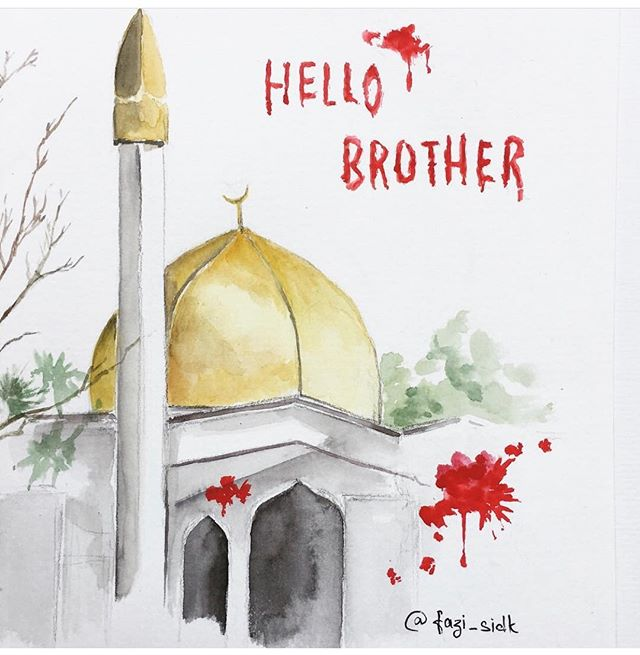 "•Peace itself has become an act of terrorism•  Greeted with "" اسالم عليكم"" (may peace be with you) the first of what was said to the killer of all those innocently shot dead😔🥺 15, March 019, the world awoke to the disturbing news of the New Zealand attack! - An extremist right wing terrorist massacred worshippers during their sacred prayer on a Friday. - An act of terror carried out by an extremist which perfectly defines cruelty an epitome of inhumanity.  Sincere condolences to the families of victims who's life came to end and to those who are injured due to this terrorising incident. I pray the trauma heals for peace and love we all come together to defeat, work stronger together and build back the humanity we have lost🙏🏾. - We just need to be human to act with humanity. No Colour, No Religion, No Class, No Wealth to divide us or classify us apart.  Prayers to all the upstanding people victimised on a daily,  where terror and unlawful acts unfold on a regular . Paradise and shif'aa to every victim. Never stop spreading awareness, Never forget! 🙌🏾 - Let's fight against the hate and stand with mankind! Show the Love & Spread the Light across as we build back humanity we lack💫."