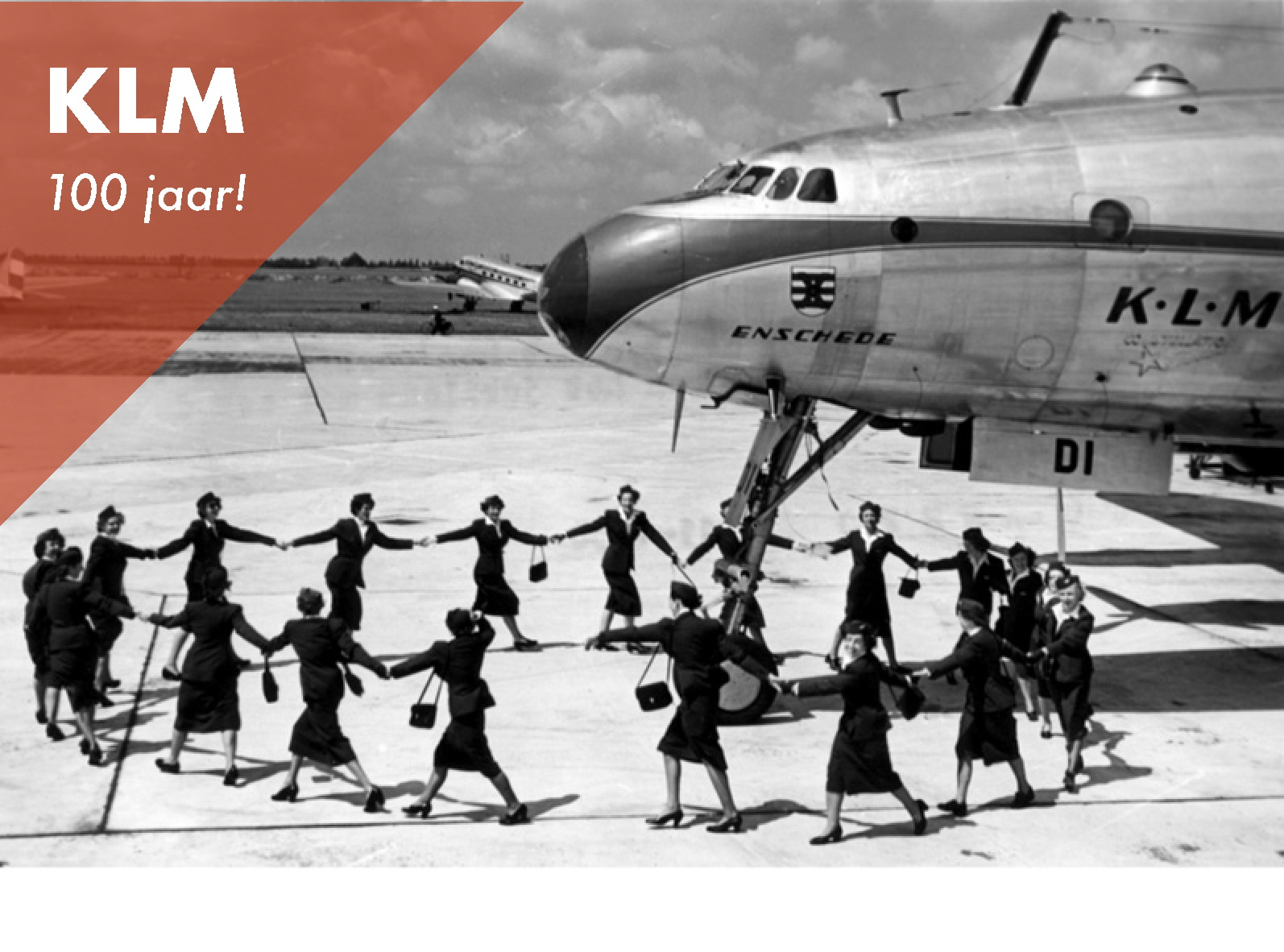 KLM airline company 100 years.   See more