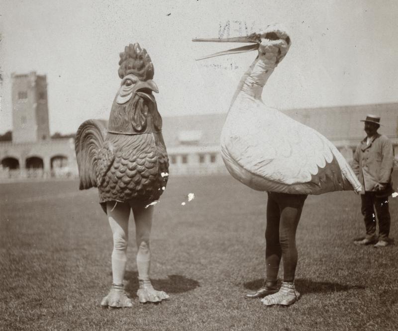 Nepvogels - op Artiestensportwedstrijden, Nederland 1914.Ik ben wel wat gewend wat het Archief betreft, zowat alles is er te vinden, maar