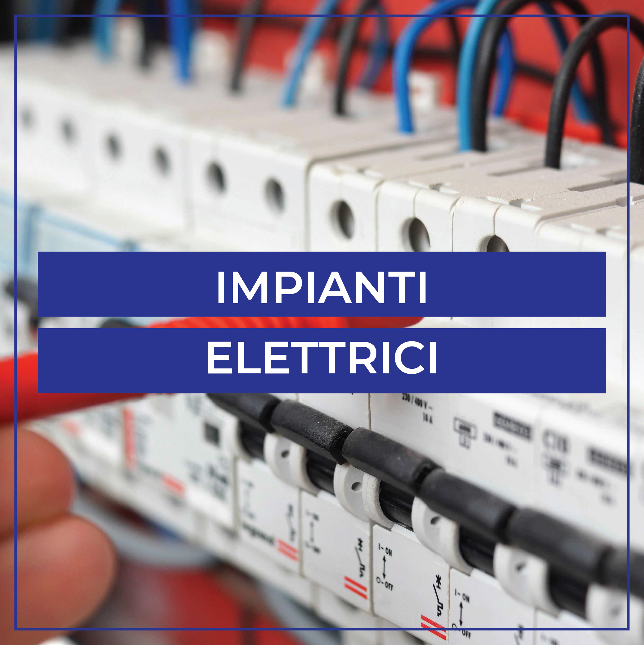 Impianti elettrici civili, commerciali ed industriali in media tensione M.T. e bassa tensione B.T. -