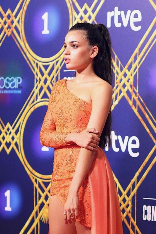 Anabel Hernández - en la Premier de la serie Continental de 2018.