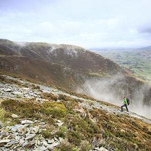 Blencathra by Hall's Fell Ridge