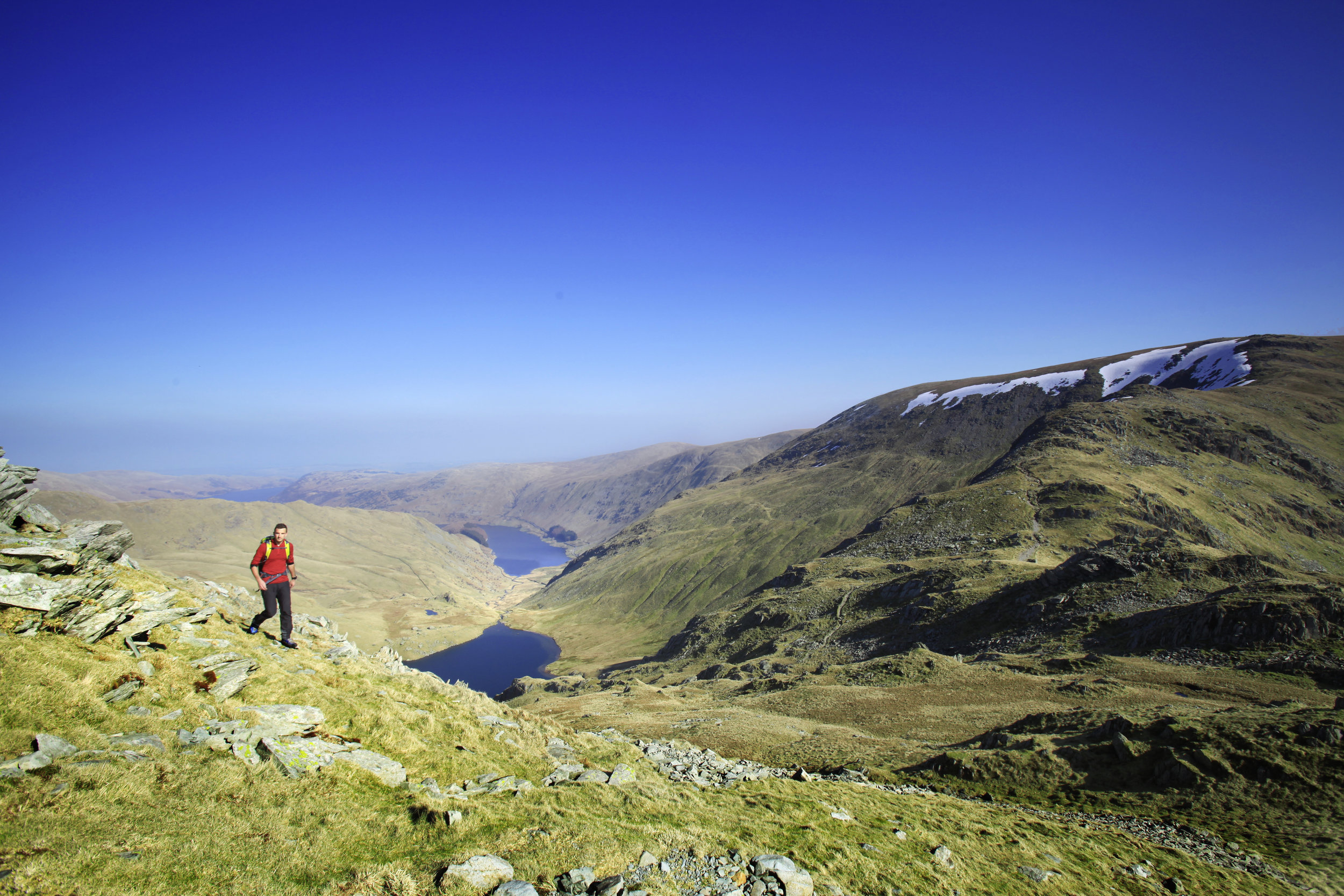 Heralding the stunning scenery around High Street in the Eastern Fells of the Lakes.