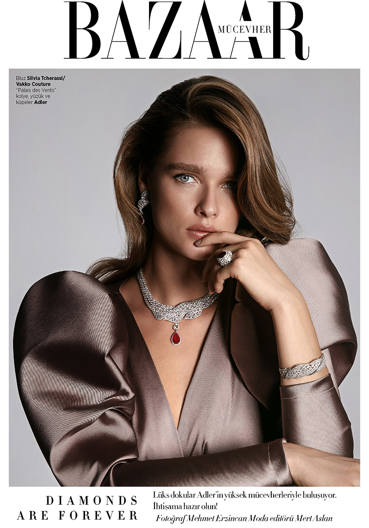 Harper's BazaarTurkey - ADLER DIAMONDS 2018, December Issue