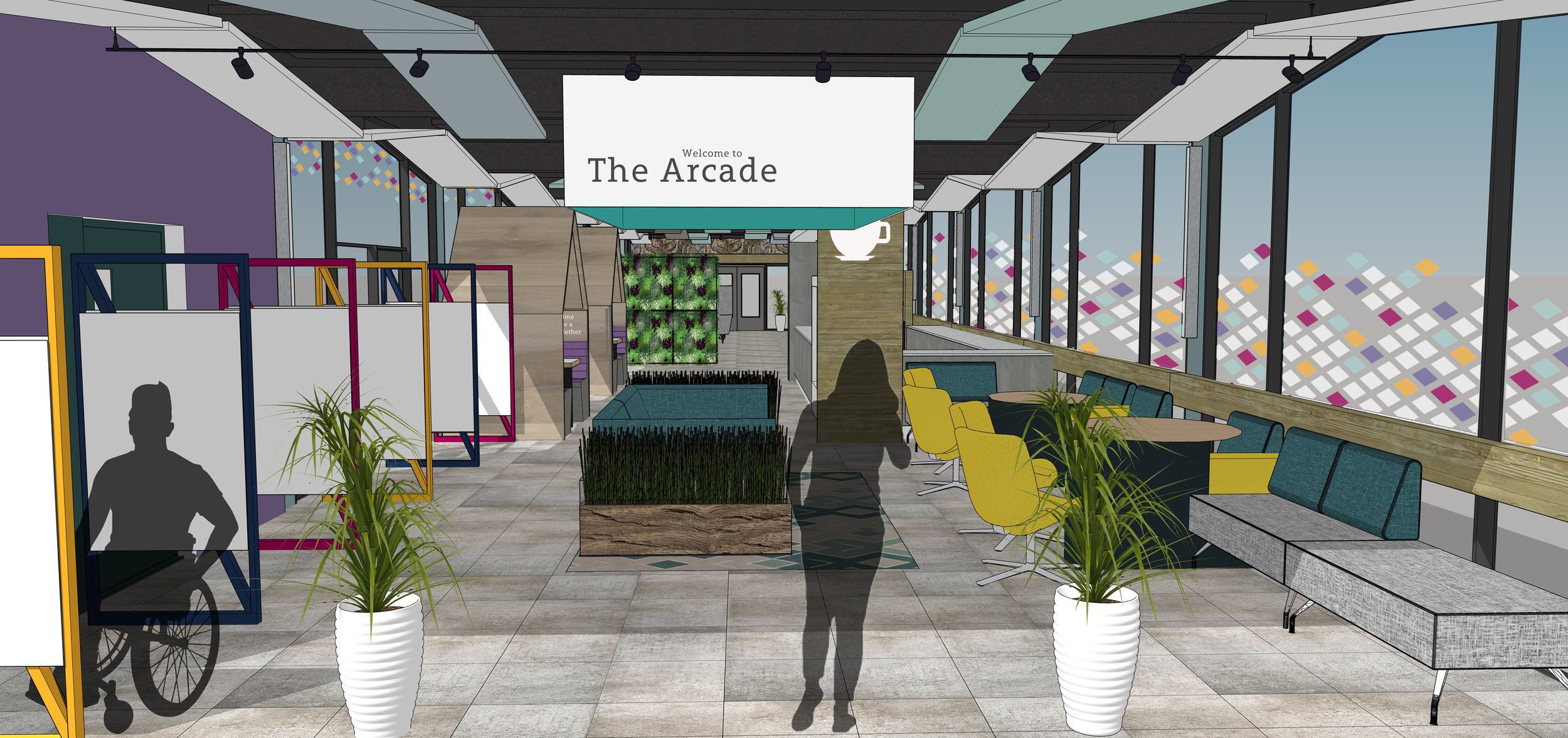 Proposed entrance to the Arcade