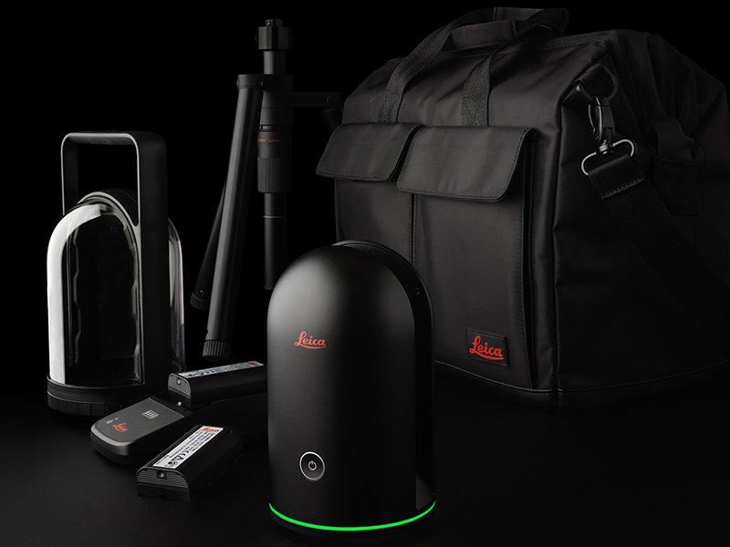 Leica's BLK360 Laser Scanning kit