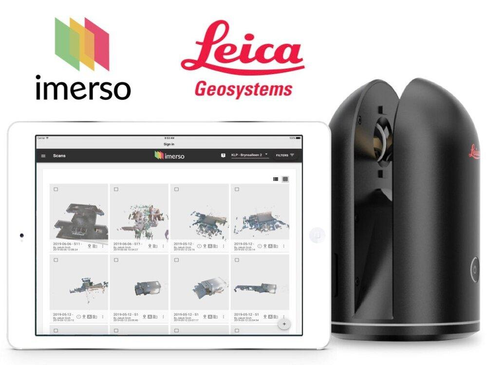 Imerso App  +  Leica Laser Scanner