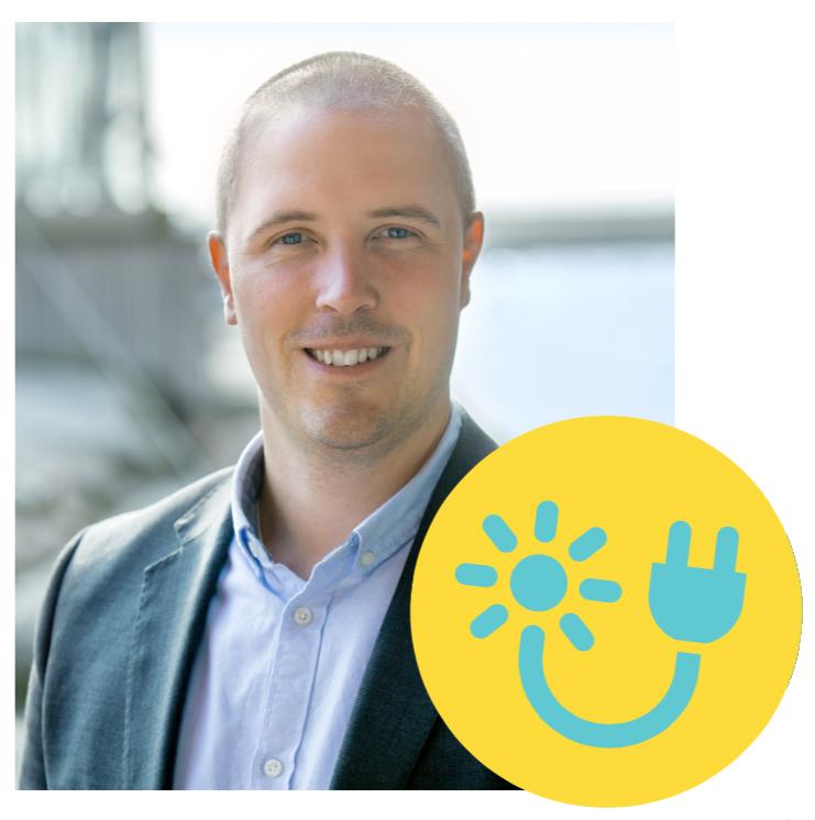 Fredrik Jostby, marknadschef Uddevalla Energi