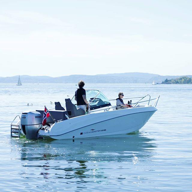 Øyeblikkene vi lever for #båtglede