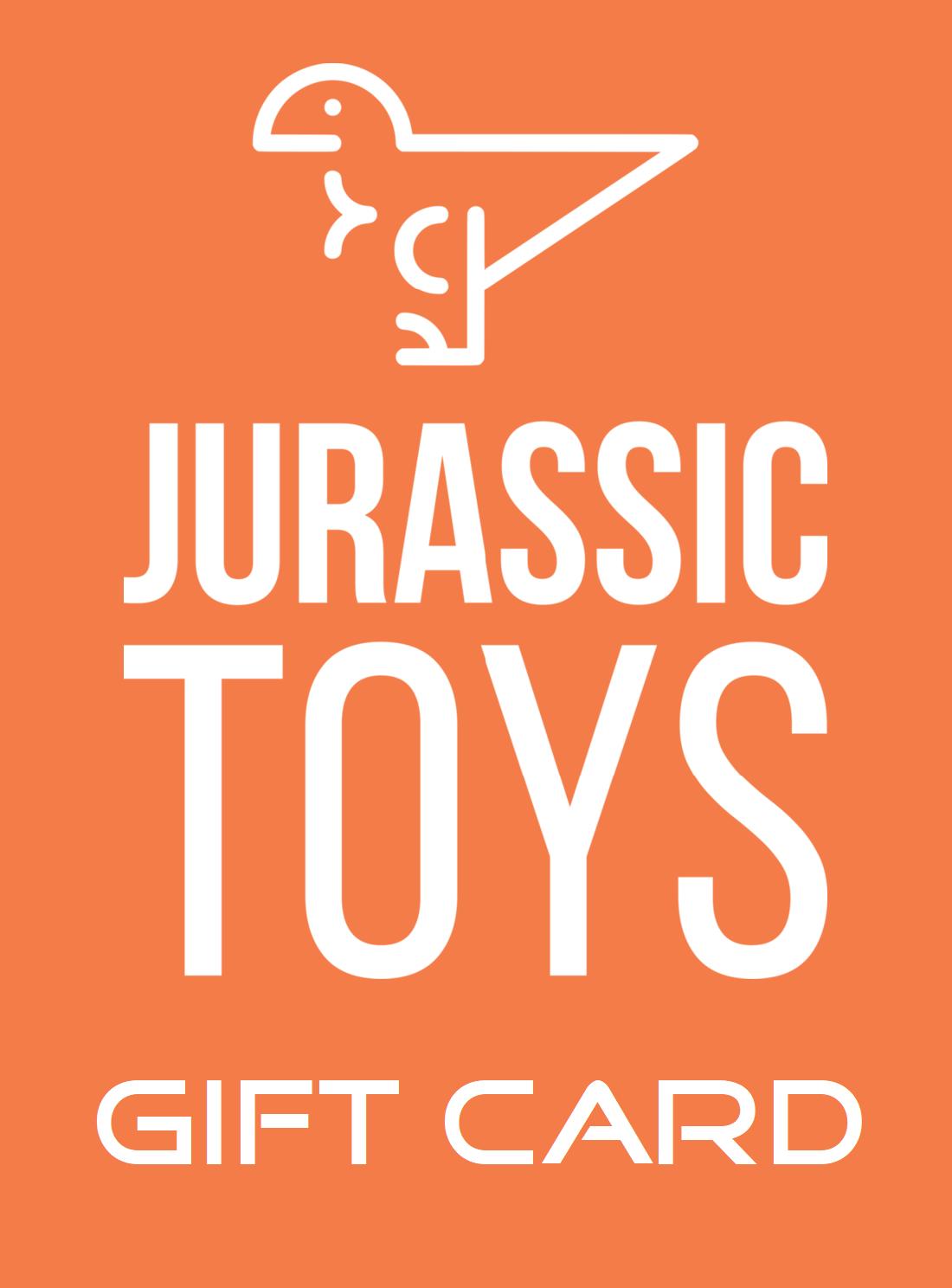 Jurassic Toys Gift Card