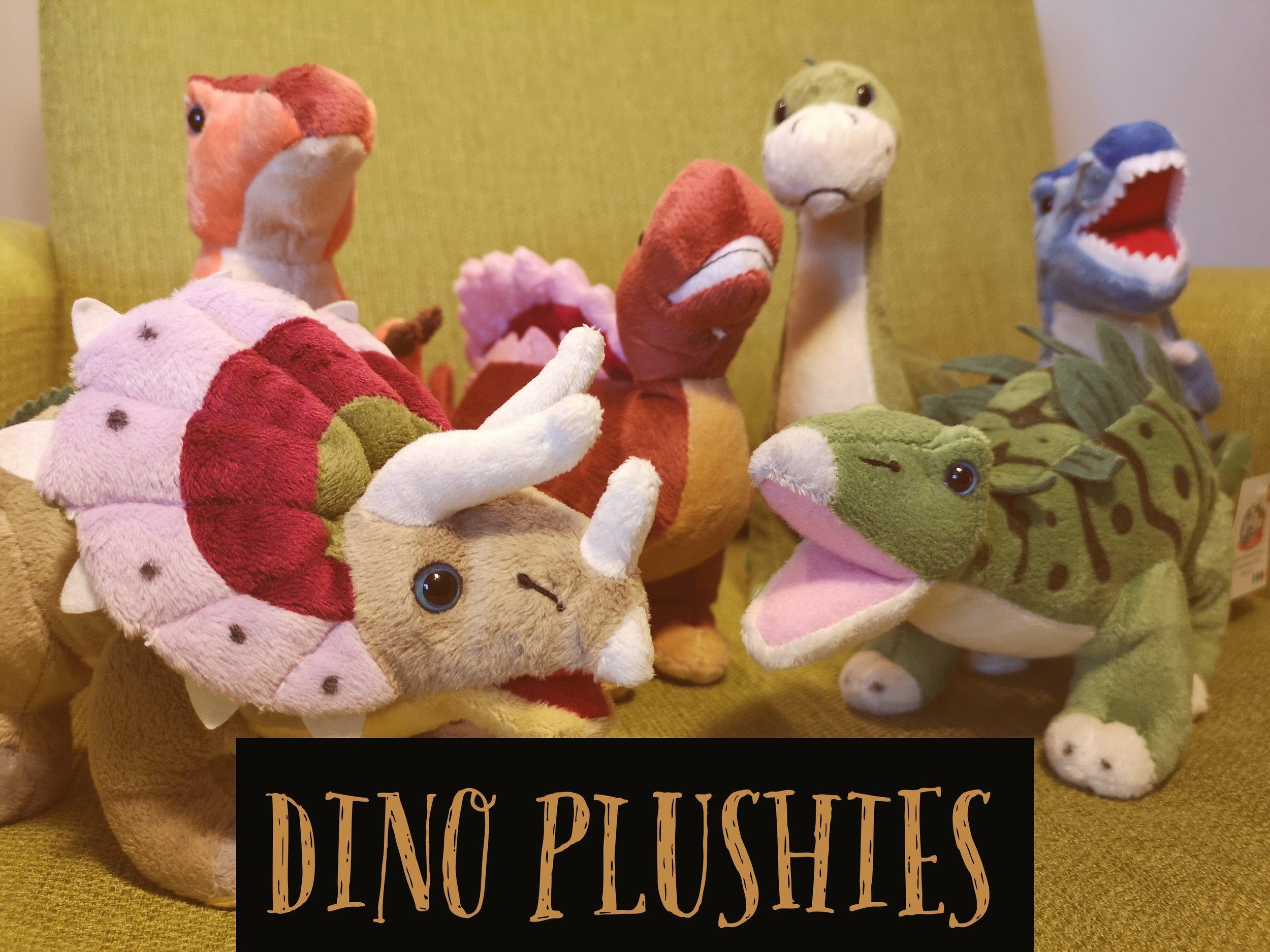 Dinosaur Plushies & Soft Toys