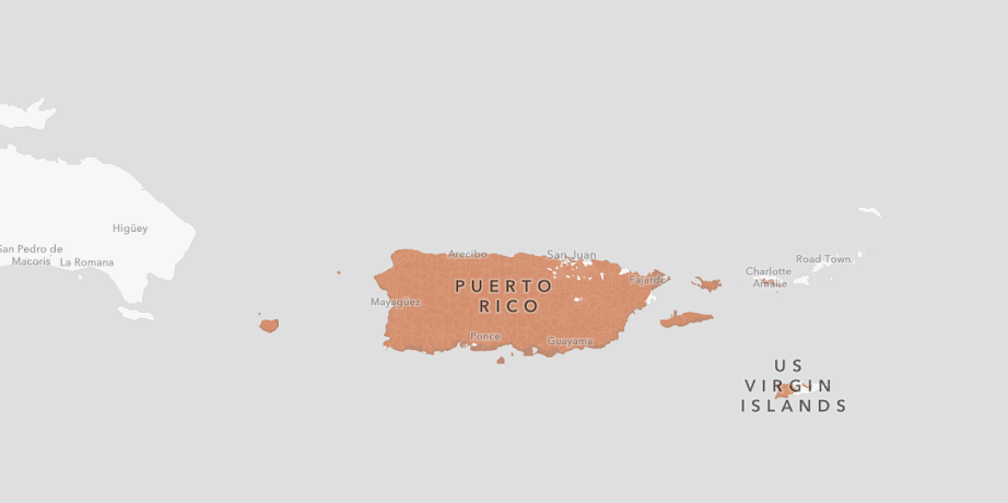 ALMOST 100% OF PUERTO RICO IS AN OZ