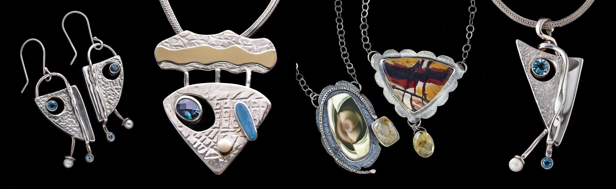 Fine Art Siver & Gold Jewelry, Sylvia McCollum, Asheville, NC