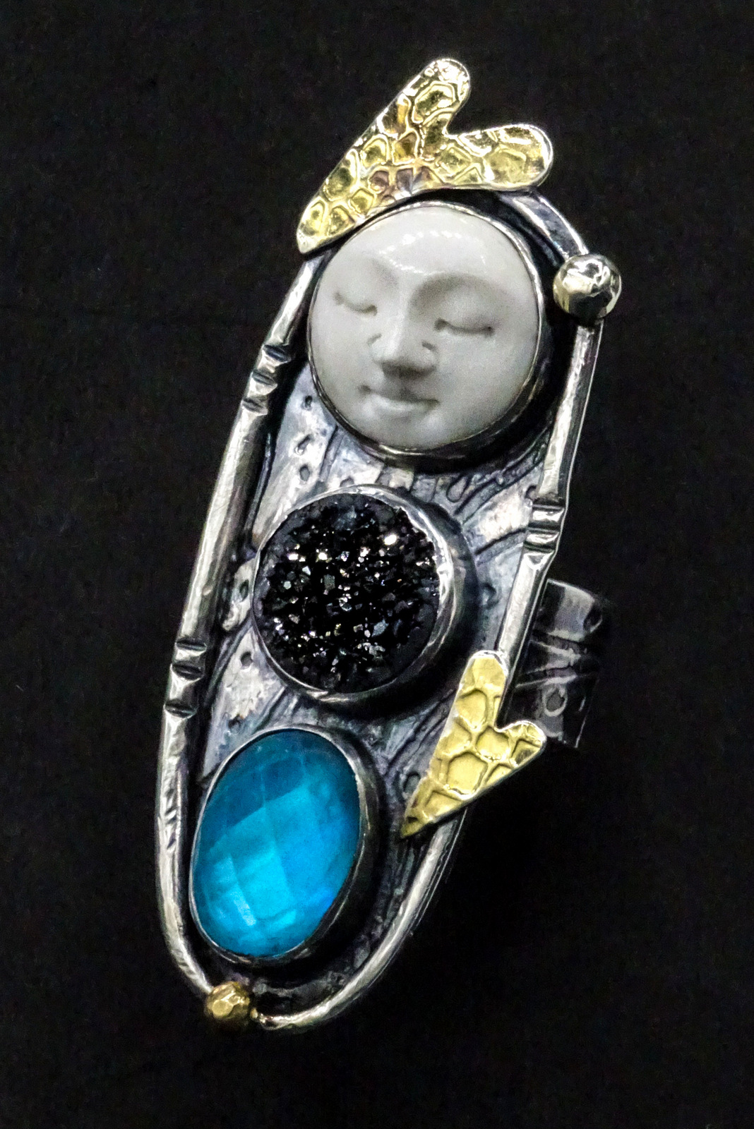 02-Sylvia McCollum, Handcrafted Faces of Courage, Fine Art Silver Jewelry-002.JPG