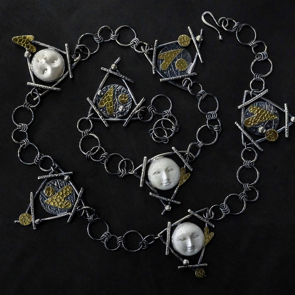 1-Sylvia McCollum, Handcrafted Faces of Courage - Long Necklace, 2019-003.JPG