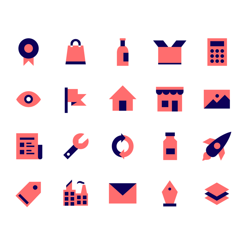 Vivid JS - A JavaScript library which is built to easily customize and use the SVG Icons with a blaze.