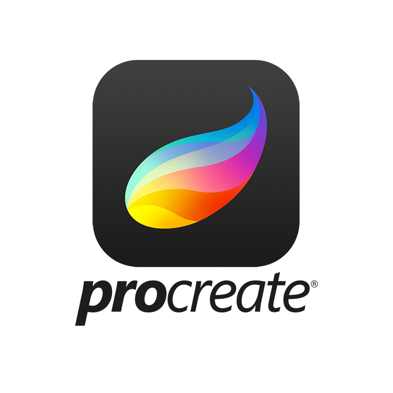 Procreate - This multi‑award winning creative application gives you the power to create beautiful sketches, inspiring paintings, and stunning illustrations wherever you are.