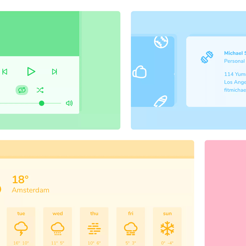 Jollycons - Gorgeous icon sets with a fun & friendly touch.